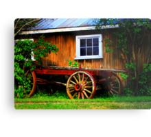 Pioneer Wagon Metal Print