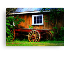Pioneer Wagon Canvas Print
