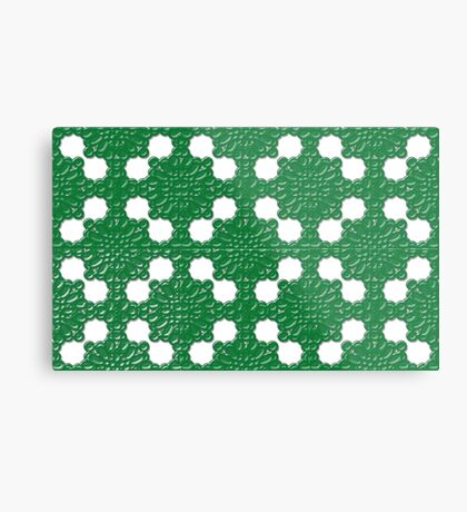 hedge with holes Metal Print