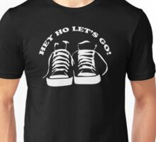 The Ramones Tribute Hey Ho lets Go Funny Geek Nerd Unisex T-Shirt