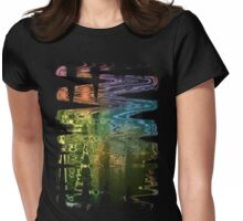 City Ice T-Shirt by artist DLKeur Womens Fitted T-Shirt