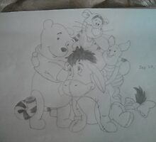 winnie the pooh by michelle69