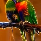 Love Birds by Sharon Morris