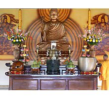 Offerings for Buddha Photographic Print