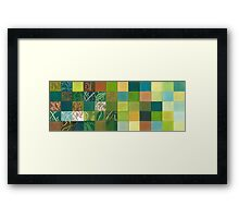 Euca Abstract Framed Print