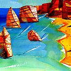 The Twelve Apostles - Great Ocean Road  by givejoydesigns