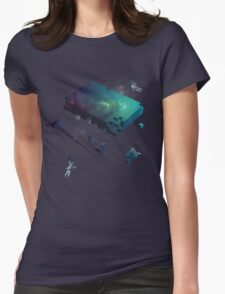 Constructing the Cosmos Womens Fitted T-Shirt