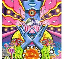magic mushroom ayahuasca trippy psychedelic by UniqueCase