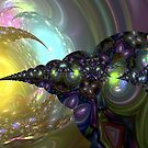 Jeweled Spirals by blacknight
