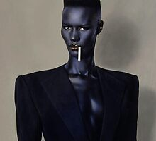 Grace Jones by watertigerleo