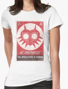 Majora's Mask Apocalypse Poster Womens Fitted T-Shirt