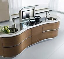 Stylish Kitchen Design by MeineKuche