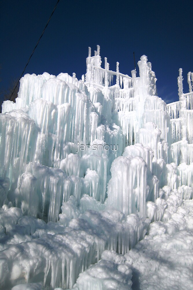 Ice Castle© by jansnow