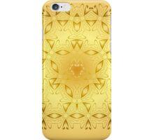Oriental - Yellow Sun iPhone Case/Skin