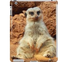 Sitting Meerkat iPad Case/Skin