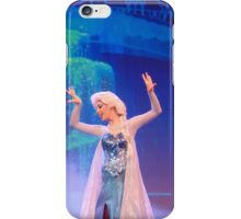 Elsa at the Frozen Sing Along- Hollywood Studios iPhone Case/Skin