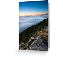 Way Above The Clouds Greeting Card