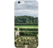 Gardens at Chateau de Villandry, France #4 iPhone Case/Skin