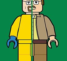 Lego Walter White by playstopreplay