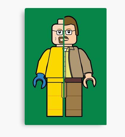 Lego Walter White Canvas Print