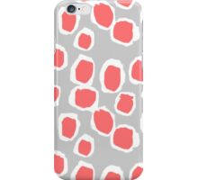 Zola - Abstract painted dots, painterly, bold pattern, surface pattern, print pattern design iPhone Case/Skin