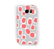Zola - Abstract painted dots, painterly, bold pattern, surface pattern, print pattern design Samsung Galaxy Case/Skin