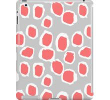 Zola - Abstract painted dots, painterly, bold pattern, surface pattern, print pattern design iPad Case/Skin