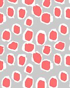 Zola - Abstract painted dots, painterly, bold pattern, surface pattern, print pattern design by charlottewinter