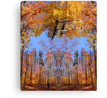 Crown Trail Blazing Canvas Print