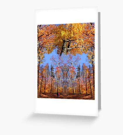 Crown Trail Blazing Greeting Card