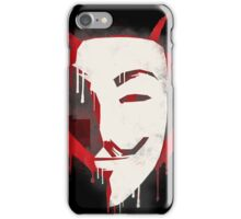 Revenge is my middle name iPhone Case/Skin
