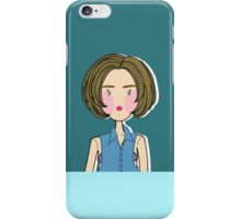 sexy girl iPhone Case/Skin