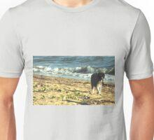 Beach Walking Pialba, Qld Australia Unisex T-Shirt