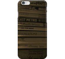 Cinema Lover iPhone Case/Skin