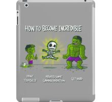 How to Become Incredible iPad Case/Skin