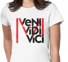 Madonna VENI VIDI VICI Womens Fitted T-Shirt