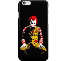 Banksy Joker McDonalds iPhone Case/Skin