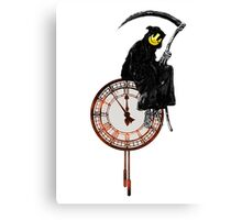 Banksy Grim Reaper Canvas Print