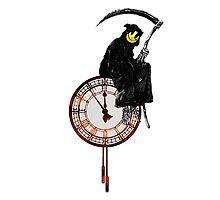 Banksy Grim Reaper Photographic Print