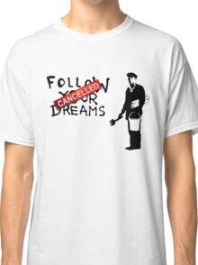 Banksy Follow Your Dreams Classic T-Shirt