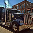 Express Clydesdale Kenworth Semi Truck by TeeMack