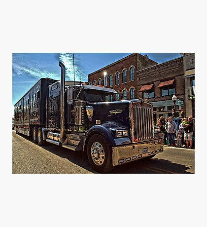 Express Clydesdale Kenworth Semi Truck Photographic Print