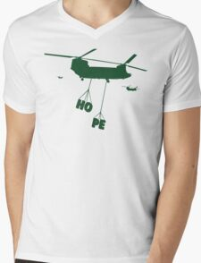 Heli Hope Mens V-Neck T-Shirt