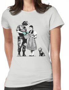 Banksy Dorothy Womens Fitted T-Shirt
