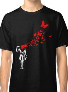 Banksy Butterfly Girl Classic T-Shirt