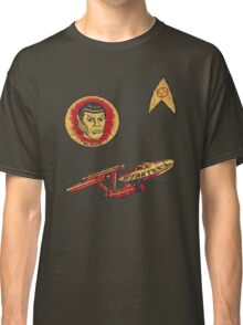 Spock Star Trek Costume from 1975 (yes, really) Classic T-Shirt