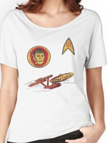 Spock Star Trek Costume from 1975 (yes, really) Women's Relaxed Fit T-Shirt