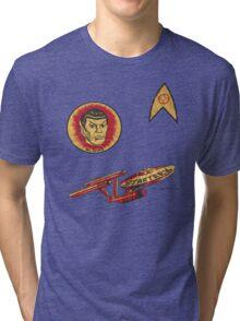 Spock Star Trek Costume from 1975 (yes, really) Tri-blend T-Shirt