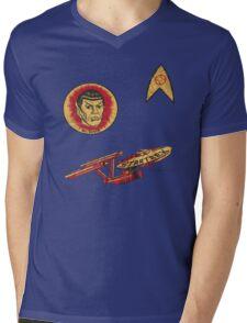 Spock Star Trek Costume from 1975 (yes, really) Mens V-Neck T-Shirt