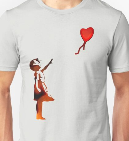 Banksy Balloon Girl Unisex T-Shirt